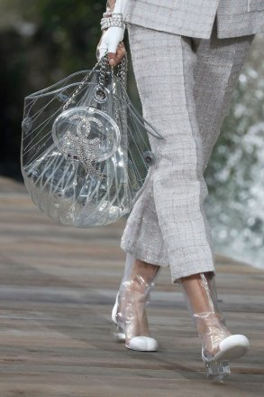 Clear-Tote-Bag-Featured-Sparkly-Chanel-Logo